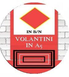 Volantini in b/n